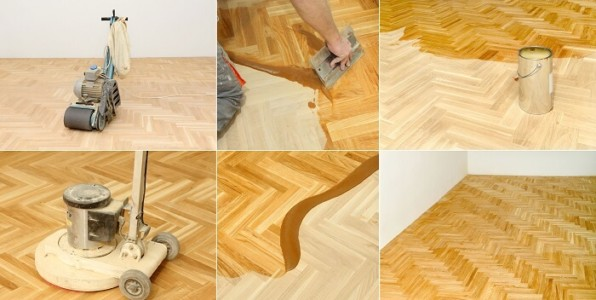 coating timber floor
