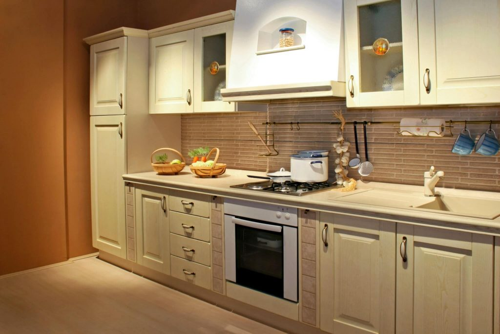 Timber cabinets