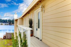 Protecting weatherboard cladding, weatherboard cladding, timber cladding for sheds, timber cladding